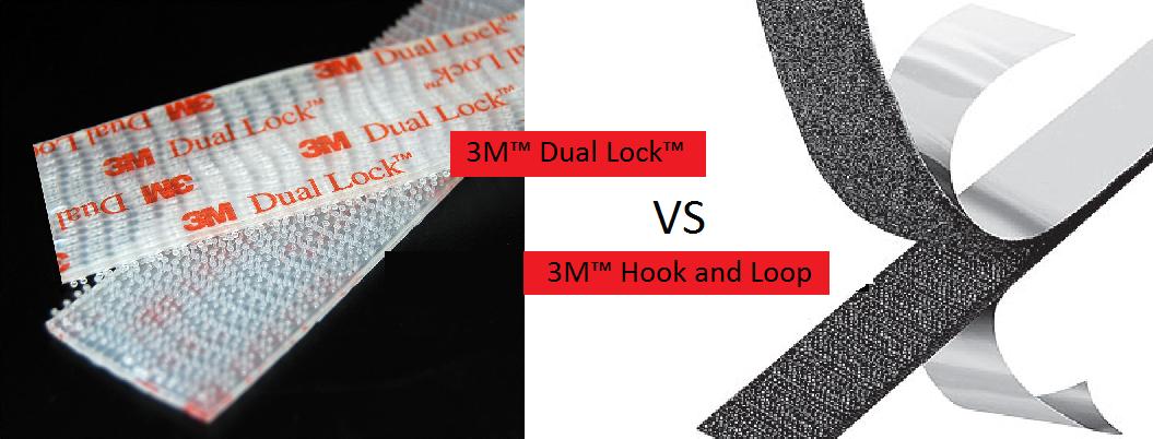 Dual Lock™ vs. 3M™ Hook and Loop