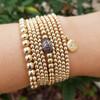 Gold Filled Ball Bracelet