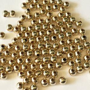 10K Yellow Gold Beads