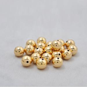 18 Karat Yellow Gold Beads