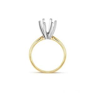Engagement Solitaire Ring 14 Karat Yellow Gold