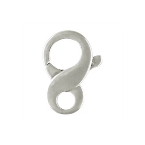 Infinity Trigger Clasp White Gold