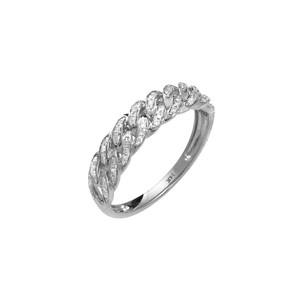 Diamond Cuban Link  Chain Ring