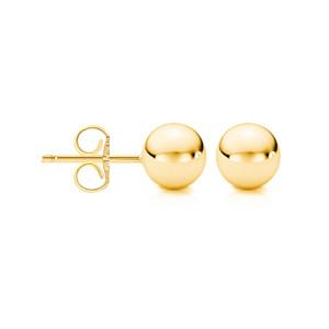 18kt Yellow Gold Ball Stud Earrings