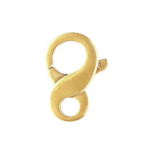 Infinity Trigger Clasp Yellow Gold