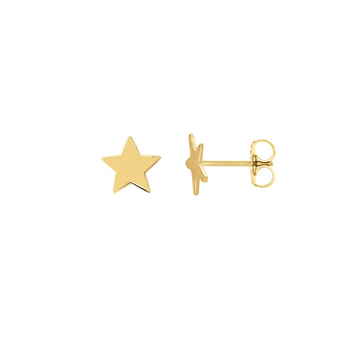 mini star stud earring