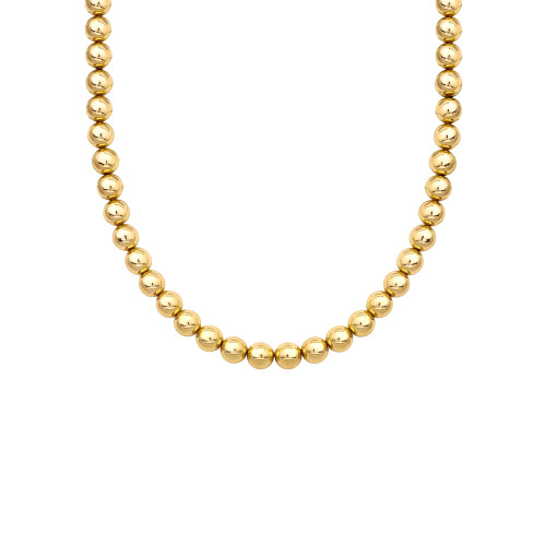14K Gold Filled Bead Necklace
