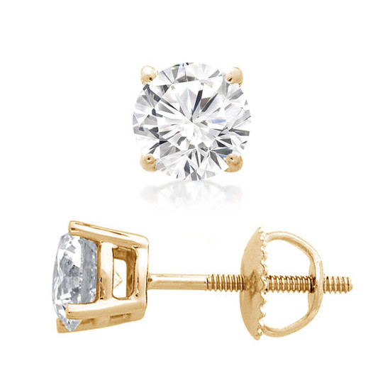 Diamond Stud Earring 14K Gold