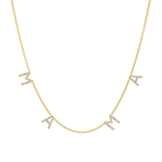 Diamond Mama Necklace