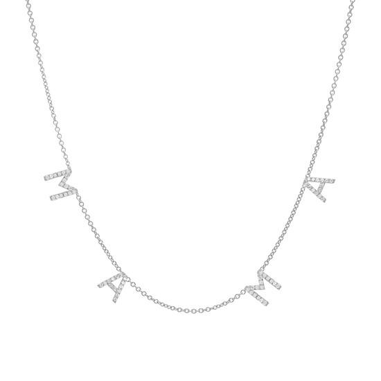 Diamond Mama Necklace 14K Gold