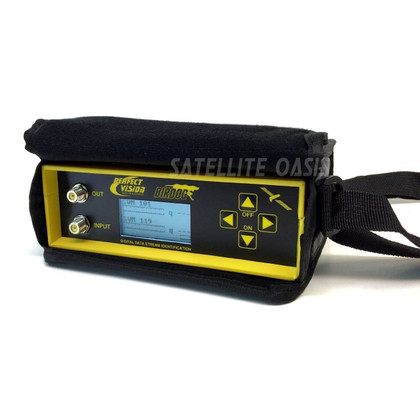 Refurbished Birdog / Bird dog Satellite Signal Level Meter with USB 4 OEM CASE