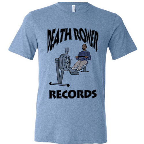 Death Rower Records Tee
