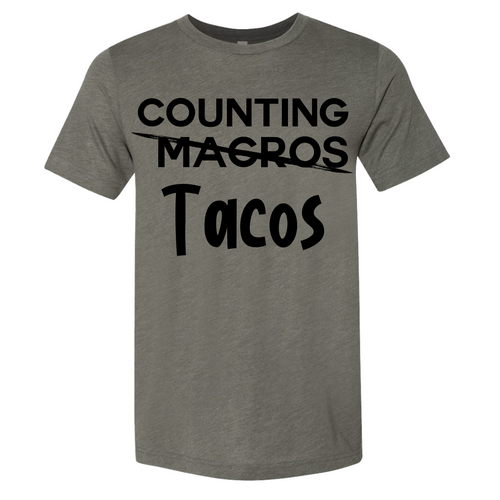 Counting Tacos - Tee
