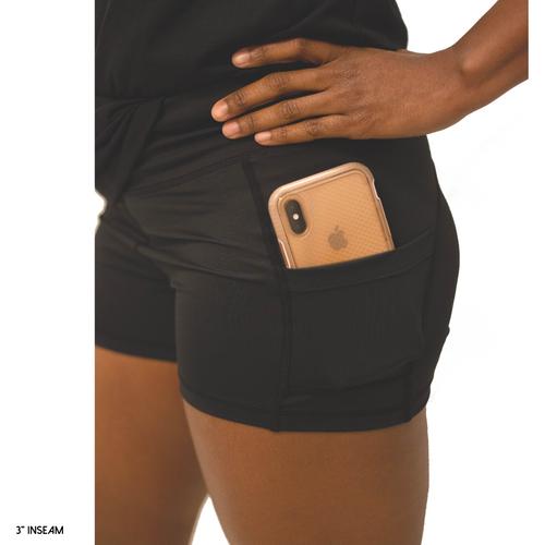 Black Side Pocket  SHORTIES™