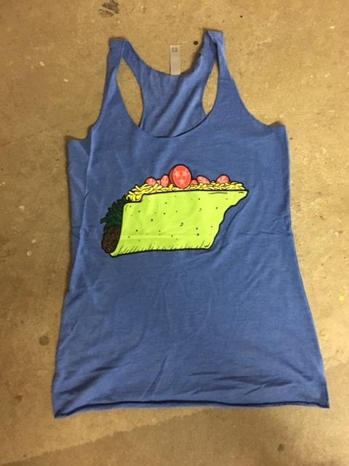 Tacos in TN (spinach) - Tank - FINAL SALE