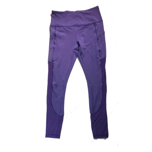 Lavender Mesh Leggings