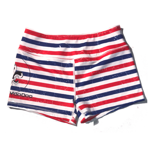 Red, White & Blue Women's Shorts