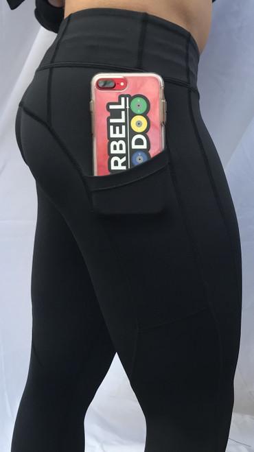 Pocket Capri - Black