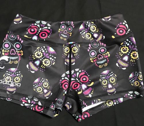 Glowing Skulls Classic Cut - Women's Shorts