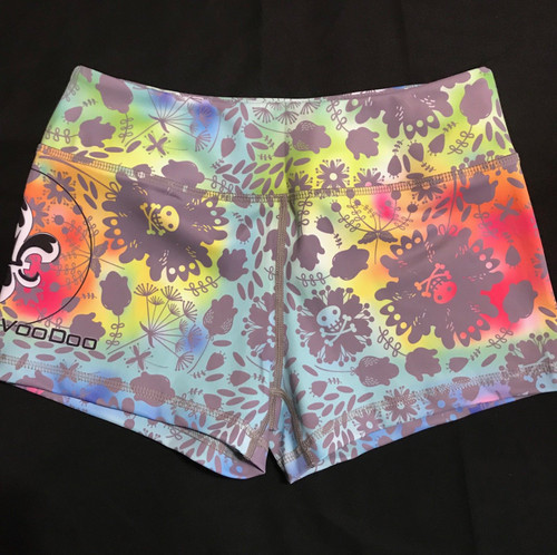 Rainbows and Skulls Women's Shorts