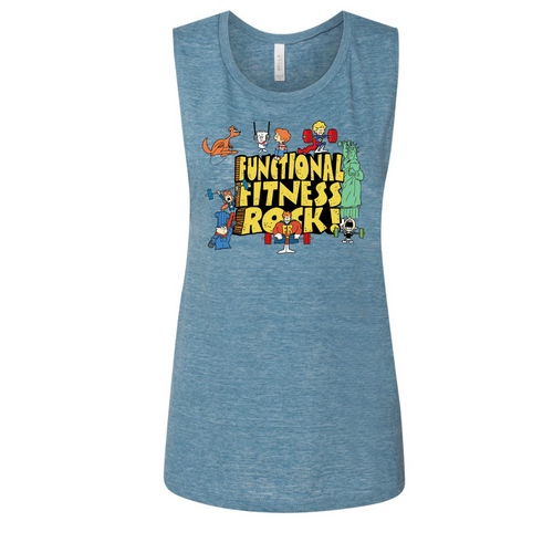 Functional Fitness Rock-Muscle Tank