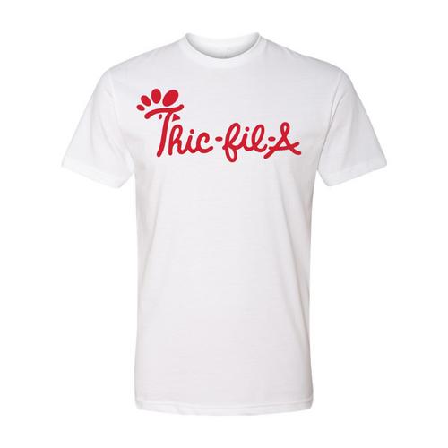 Thic-Fil-A Tee - White