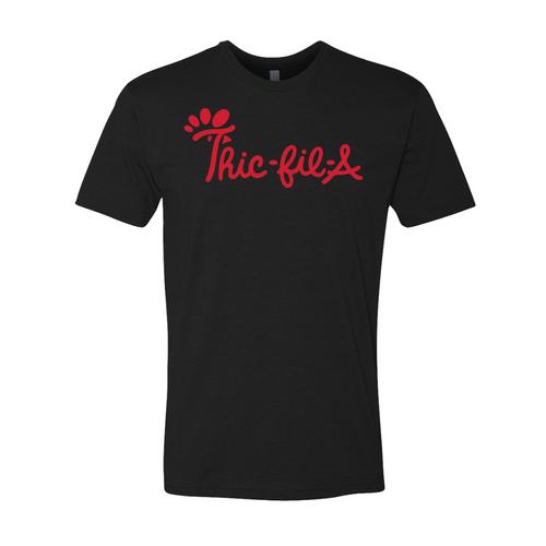 Thic-Fil-A TEE-BLACK