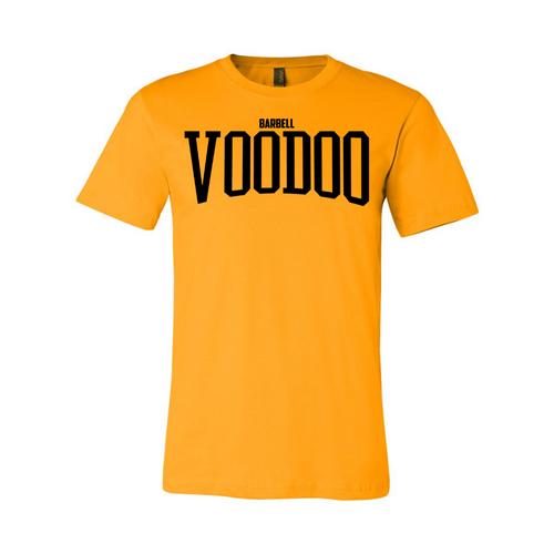 VooDoo Classic Logo Tee - School Bus Yellow