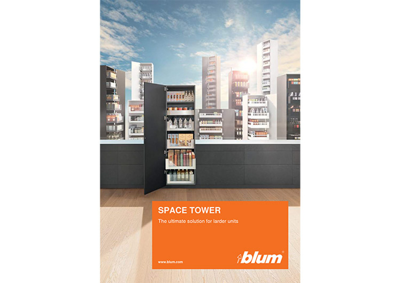 Receive your FREE SPACE TOWER brochure