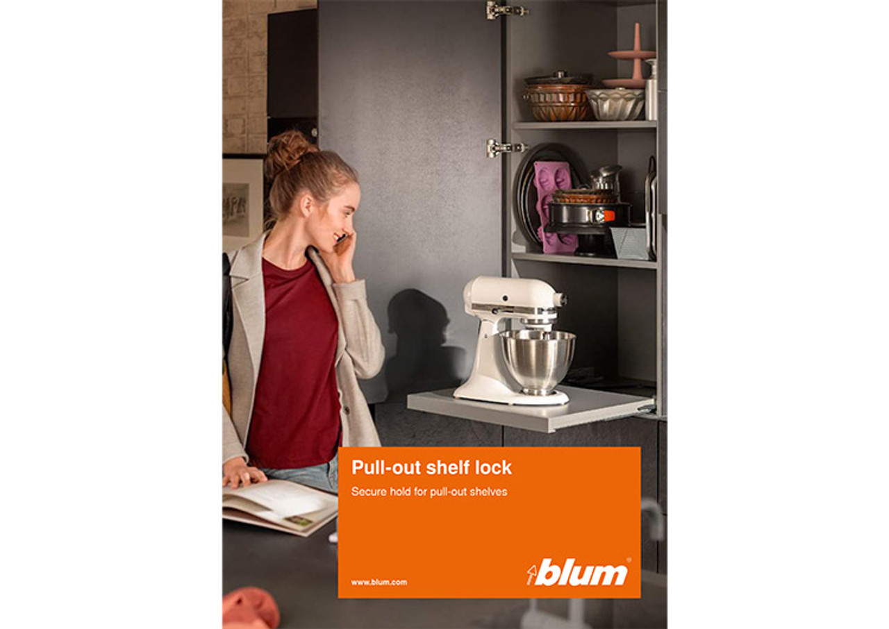 Receive your FREE pull-out shelf lock brochure