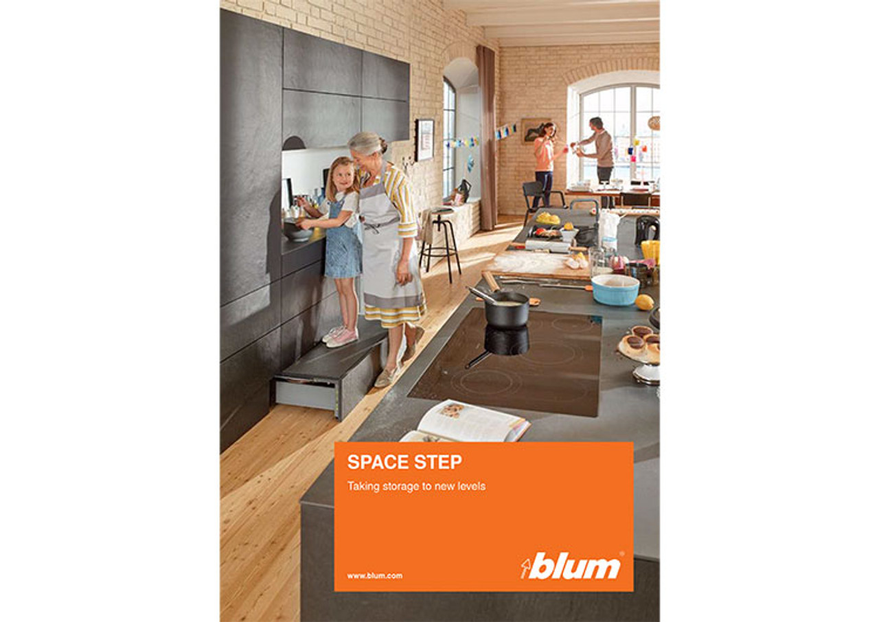 Receive your FREE SPACE STEP brochure