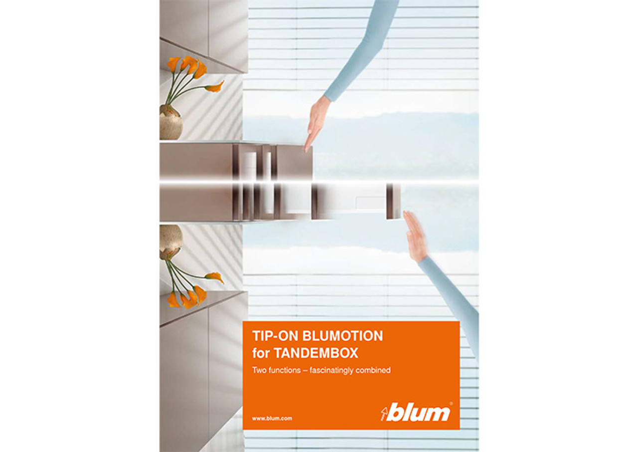 TIP-ON BLUMOTION for TANDEMBOX brochure