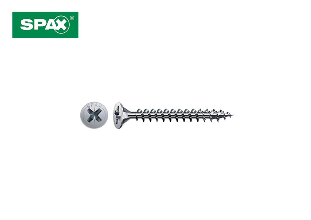 SPAX® Countersunk Screws Ø3.5 x 25mm   Box of 200