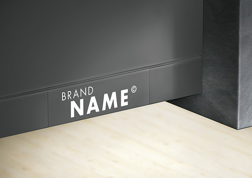 We can help with individual printed branding. Either simple and reserved or deliberately accented.