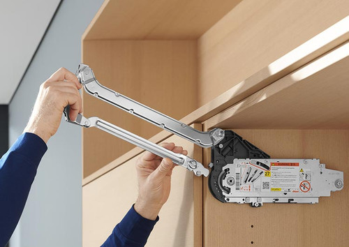 AVENTOS HL lift lever arms simply attach without using tools