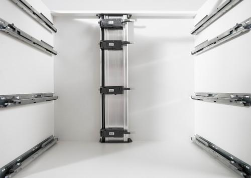 SERVO-DRIVE Cabinet Bracket Profile 670mm