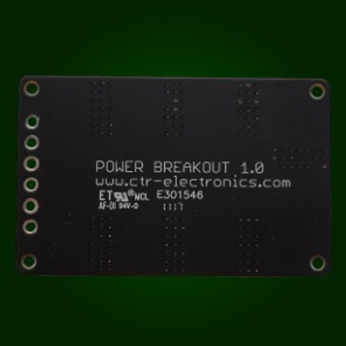 Power Distribution Breakout PCB