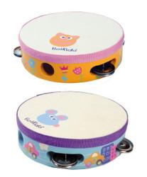 wooden toy tambourines