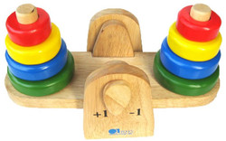Qtoys Wooden Balance Stacking Toy