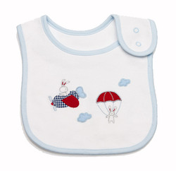jo jo cotton baby bib
