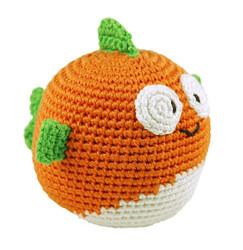 fish crochet bamboo baby toy