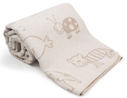 david fussengger animal juwel cot blanket