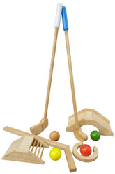 Qtoys Mini Golf Set (Wooden)