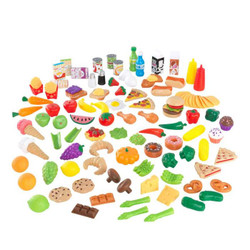 kidkraft tasty treats deluxe pretend play food set