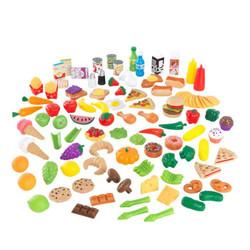 kidkraft tasty treats deluxe pretend play food set