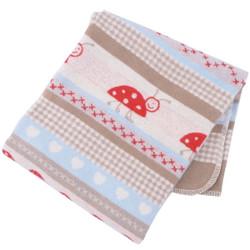 david fussenegger ladybugs bassinett blanket