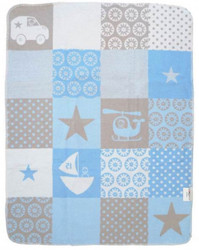 david fussenegger air land sea baby blue boy blanket
