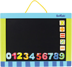 kids magnetic chalkboard