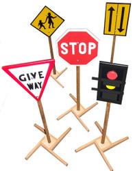 qtoys traffic signs set
