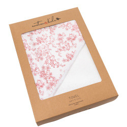 Emotion & Kids Hooded Baby Towel - Japanese Blossom